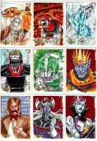 Voltron cards 2 by MelUran