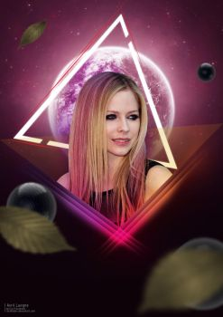 Music Art : Avril Lavigne by maseja