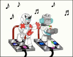 DDR by GoreChick