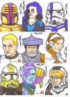 Star Wars Galaxy 5 batch 2 by NORVANDELL