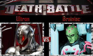 Ultron vs Brainiac by SonicPal