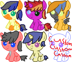 Fliterature/Litare Foal adopts by pichu263