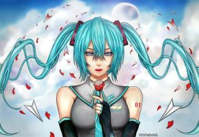 Love Letters To and From Hatsune Miku by Stefminnie