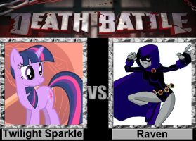 Death Battle: Twilight vs Raven by porygon2z