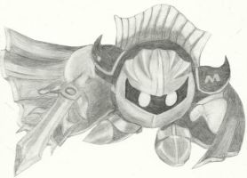 Meta Knight by FizzyBubbles