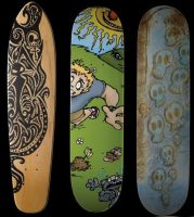 Skateboards by MikeyJV