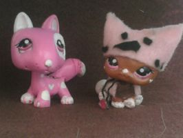 Coco and Jessie LPS by NaNO3Spicer
