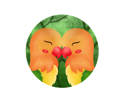 Lovebirds gif by kimberley1998