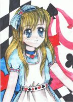 Alice - colored by InHimmel