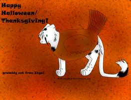 Happy Halloween/ThanksGiving 2013 by Bunny105