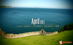 Desktop Wallpaper Calendar: April 2013 by lalas