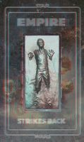 Star Wars - Han Solo in Carbonite 3d Anaglyph - V2 by 3ftDeep