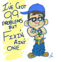 99 Problems but Fixin' Ain't One by ashleyMO