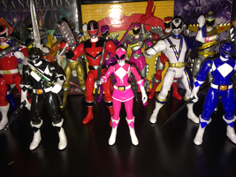 Power Rangers Toy Collection 012: Pink Ranger by AnutDraws