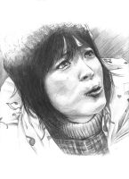 Pencil Portrait - Nodame by scarypet