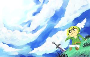 Wind Waker Wallpaper by Exeivier