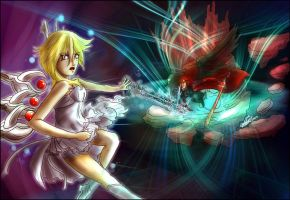 Dissidia Aces R4 -Vs Namine by new-world-eve