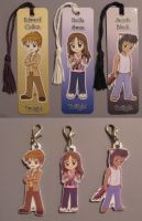 Twilight Charms and Bookmarks by dyzzispell