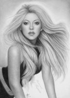 Shakira draw. by titol87