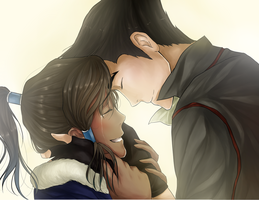 Makorra - It's good to see you by sakura-muffins