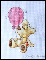 Newtons Law Pink Balloon by KezzaLN