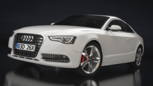 2012 Audi A5 Coupe - Final Render by MeshWeaver