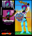 #CKstudios presents Anti-Hero is Awesome #1 by CKToonStudios