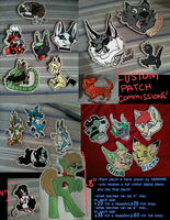 Open for PATCH COMMISSIONS by MangoIsland