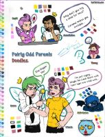 Fairly Odd Parents Doodlez by karlarei2003