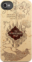 marauders map iphone case by Applescruffgirl