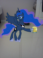 Princess Luna what are you drinking?!?!?!?!? by luisbonilla