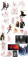 The I-draw-too-much-Rufus Sketchdump by Digimitsu