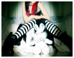 The White Rabbit In Wonderland by Inominatus