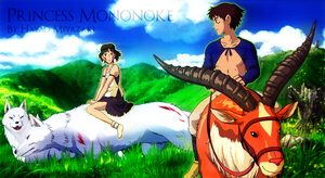 Princess Mononoke by randomchaos606
