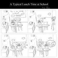 Typical Lunch at School by Miss-Mae