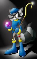 Sly Cooper Sonicized by silveramysaurus07