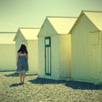 Beach Huts by anneclaires
