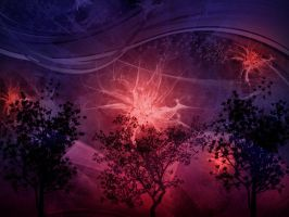 dream of magic forest II by danamis