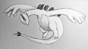 Request-Lugia by shycatgirl