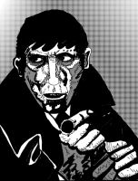 BARNABAS COLLINS DAILY SKETCH CHALLENGE by exspasticcomics