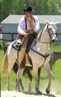 Cowboy Mounted Shooting 14 by jennifermary