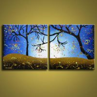Tree Art Whimsical Forest by hjmart