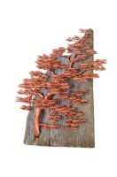 Driftwood copper wire sculpture by minskis