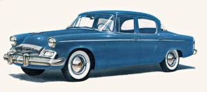age of chrome and fins : 1955 Studebaker by Peterhoff3