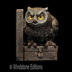 Little Owl bookend by Reptangle