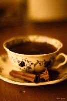cinnamon tea by unknown-dark