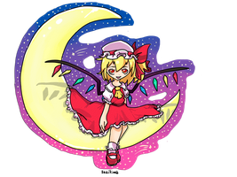 flandre scarlet commish by iceiline