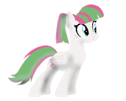 BlossomForth with a PonyTail by TidaalWavePone