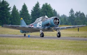 North American SNJ-6 Taxi by shelbs2