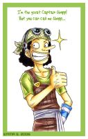 OP - Captain Usopp by ZombiDJ